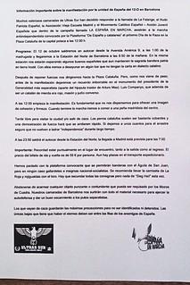 Manual contra Catalans. Hispanitat. Ultras Sur. 12-10-2012 -JPG