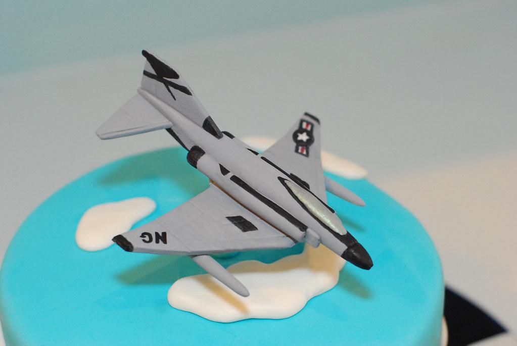 Fine Jet Airplane Cake Jet Airplane Birthday Cake Cake Is Hand Flickr Funny Birthday Cards Online Alyptdamsfinfo