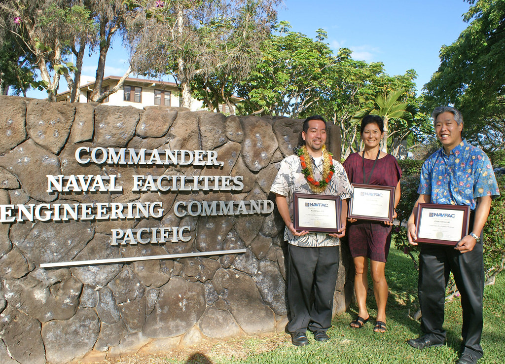 NAVFAC Pacific Graduates Three From the Leadership Develop