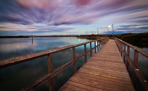 longexposure sunset nikon boardwalk southaustralia gardenisland portadelaide laszlob