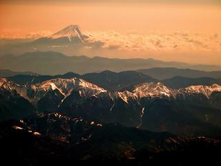 Minami Alps & Fuji san