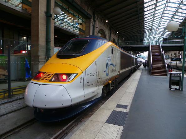 Eurostar 3103 @ Gare Du Nore Station, Paris