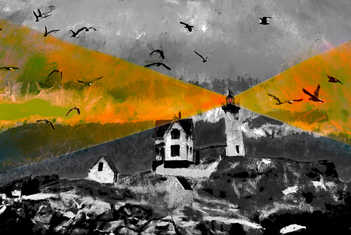 nubble light york maine colorized black white enlarged manipulated photoshop flickr google bing yahoo image facebook stumbleupon national geographic bird flying montage real beam shops sea daum colorful imaginztion unique crazy colors bright cheerful happy hue saturation blend rich photo pin android colourful red blue green air eye art landscape interesting creative color surreal avant guarde pinterest tinder tumbler