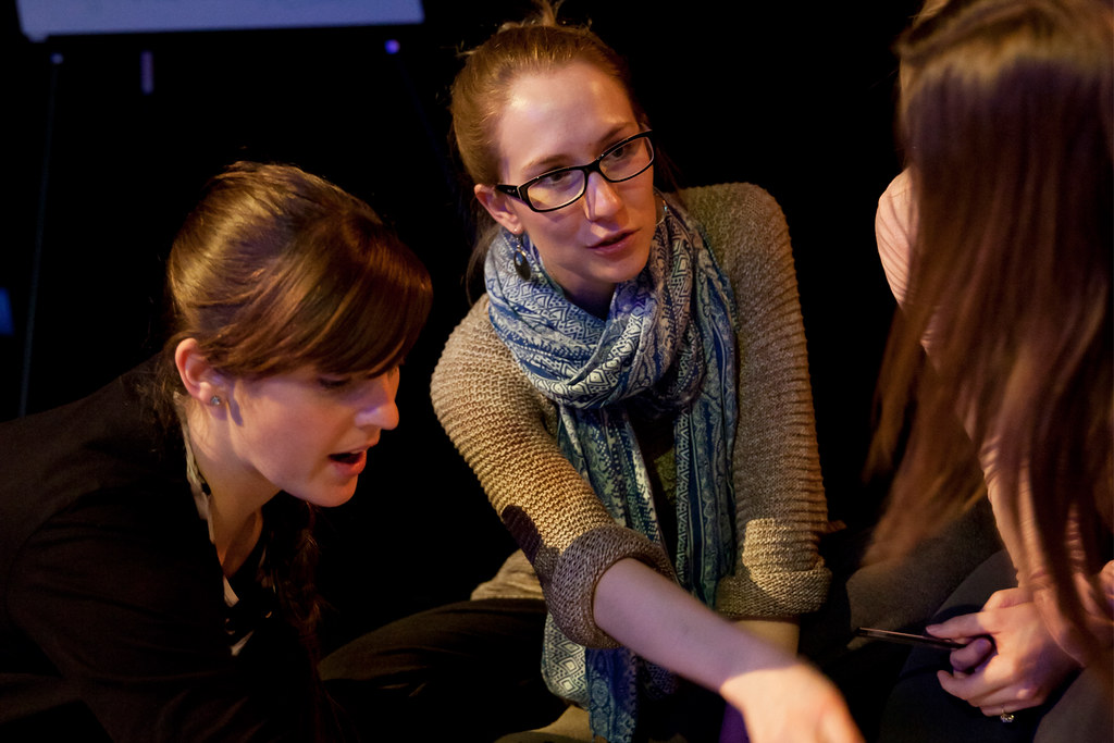 Exploring professional development opportunities at Essex Dance Teachers Network © Rachel Cherry 2013
