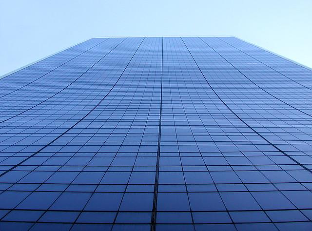 Windowed sky scraper