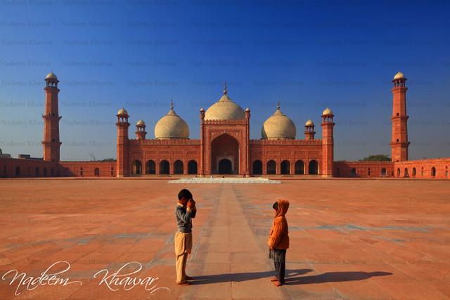 Badshahi Mosque Lahore Pakistan.
