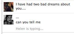 Helen bad dreams