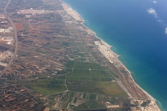 Spain coastline - aerial view 2