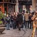 20_02_2013 Acción la PAH en Catalunya Caixa
