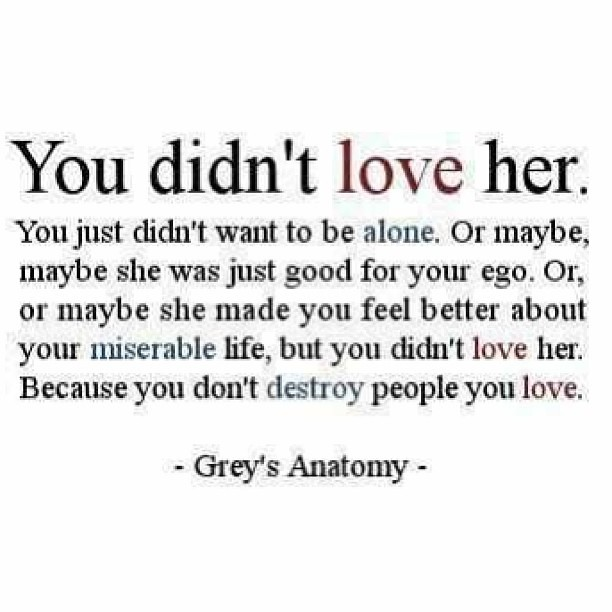 This is so true... #you #dont #love #her #destroy #destroy ...