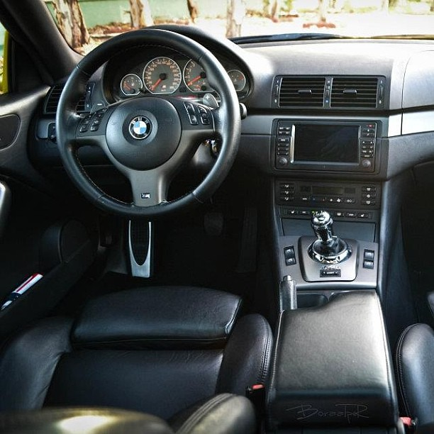 Bmw E46 M3 Interior Smg Germancar Germanstyle Phot Flickr