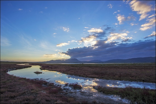 cloud reflection creek sunrise lagoon kleinmond botriver canoneos6d rooisand 1740mmefl