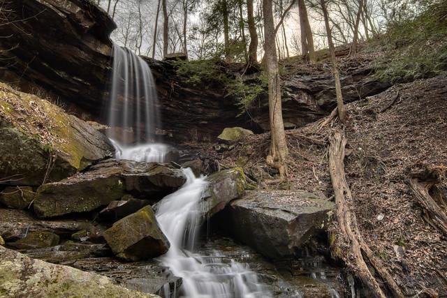 Jug Handle Branch waterfall, White Co, TN