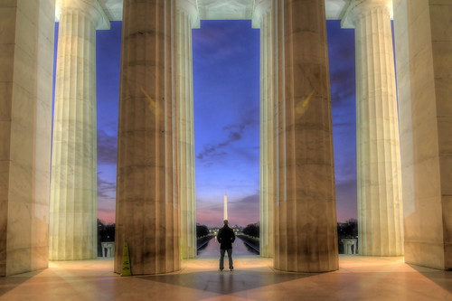 monument sunrise washingtondc dc nikon memorial tokina dcist hdr d300 photomatix 1116mm meinhdr