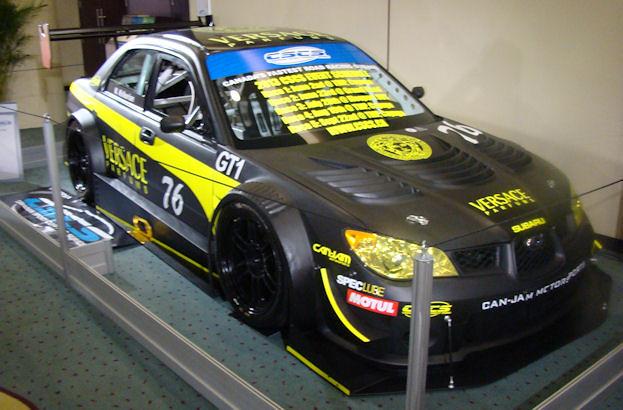 Canadian Sport Compact Series No 76 Subaru Race Car