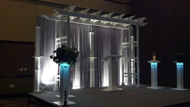 Embassy Wedding Setup