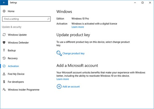 windows 10 version 16.07 build 14393