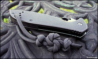Paracord pocket knife lanyard/fob | by Stormdrane