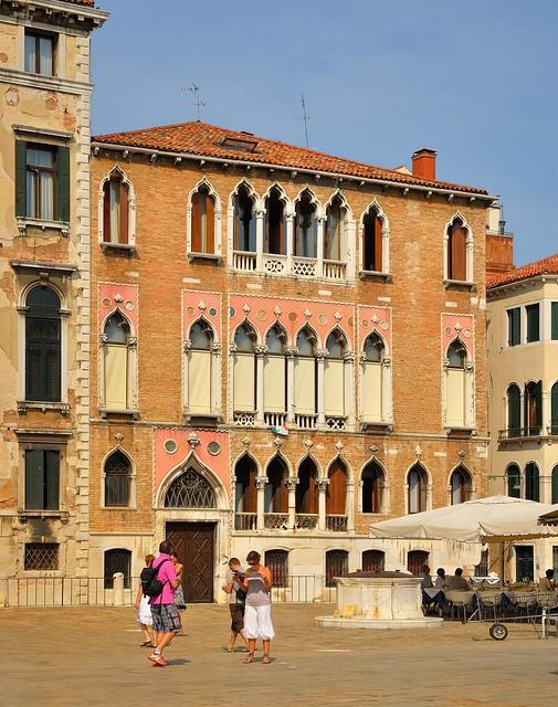 Venice : Palazzo  Gritti Morosini / Campo Sant'Angelo - 3/3