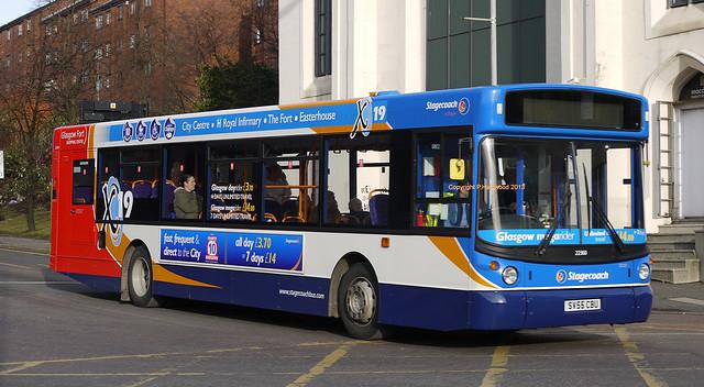 Stagecoach Glasgow 22360 (SV55CBU)