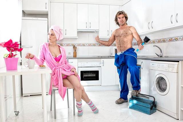 Estranged Sex XXI- The plumber
