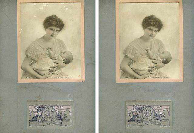 Diptych #3 - Restored 1917 Image