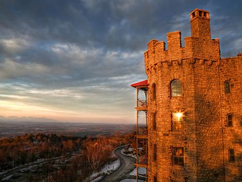 sunset ny newyork castle canon catskills hdr newpaltz mohonkmountainhouse canonef24105mmf4lisusm handheldhdr canon5dmarkiii 5dmarkiii