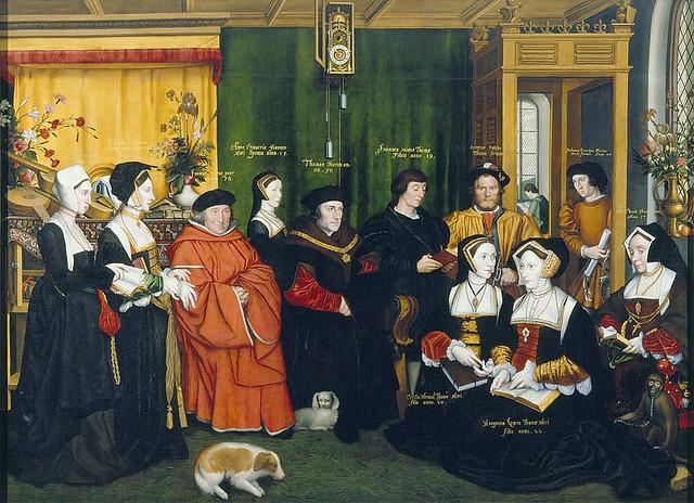 Rowland Lockey - Die Familie von Sir Thomas Morus [1592]