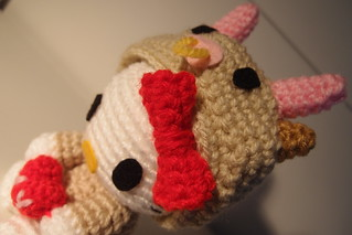 Hello Kitty in Cow Outfit (Custom Order) | by lealingo