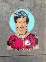 #FridaKahlo #stencil