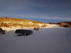 土, 2013-03-02 17:51 - 日没の頃の Mountain Village