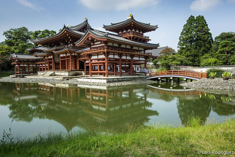 Salón del Fénix del templo Byodo-in en Uji