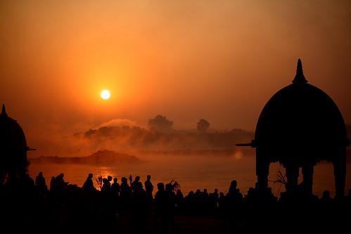 india sunrise canon river eos holy narmada jabalpur 450d canonefs55250mmf456is aksveer chhatt