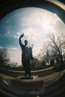 fisheye torchbearer | by Joelk75