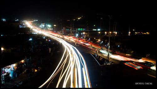 road night photography long exposure traffic nigeria lightstreaks emirs kwara ilorin nofuchu