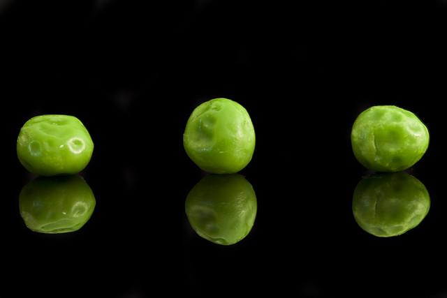 reflection on peas