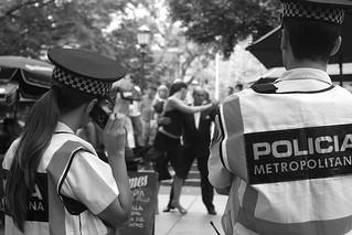 Police looking tango | by Nicolas Alejandro Street Photography