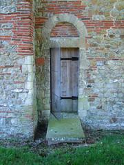 north chancel door
