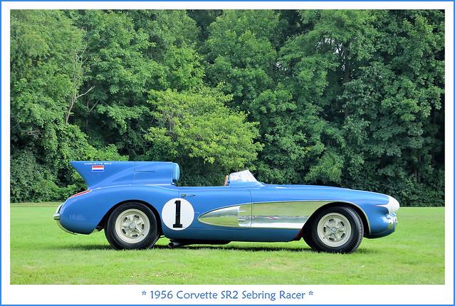 1956 Corvette SR2 Sebring Racer