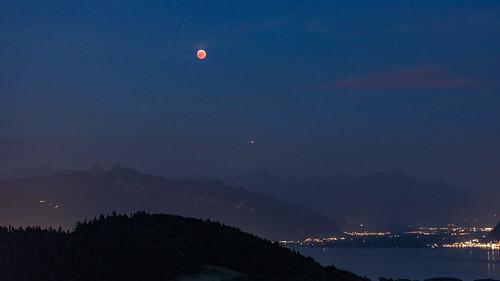 Eclipse totale de Lune  |  Total lunar eclipse