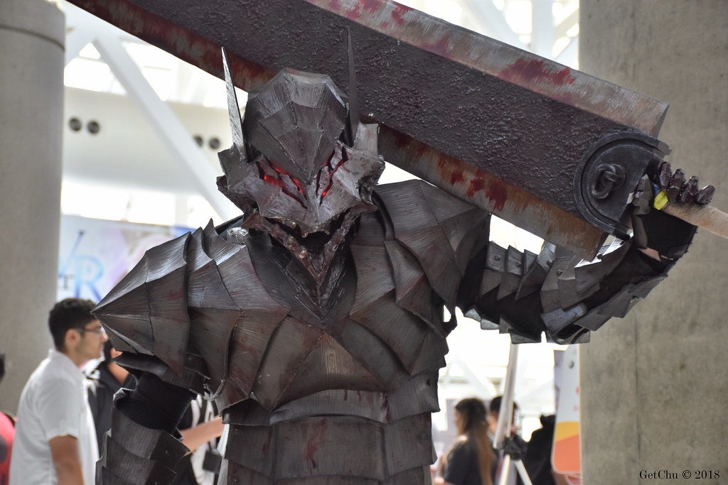 Guts Berserker Armor From Berserk Igetchu Flickr
