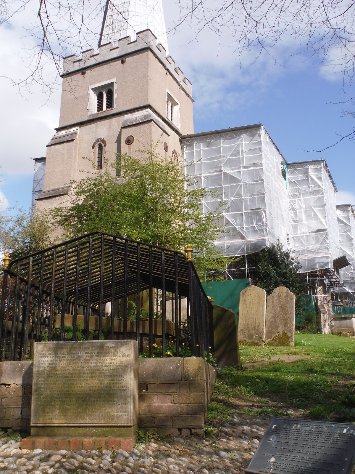 Lord Byron's Favourite Spot with St. Mary on the Hill SWC Short Walk 40 - Harrow-on-the-Hill (South Kenton or Northwick Park to Harrow-on-the-Hill)