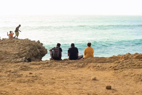 bhitkhori mubarakvillage pakistan karachi sindh rural coast sea seascape beach
