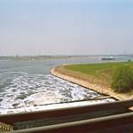 Mündung der Emscher in den Rhein