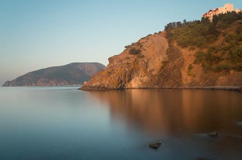 smc crimeanpeninsula k01 pentax 1855 leefiltersbigstopper nd30 10stops cliff sea