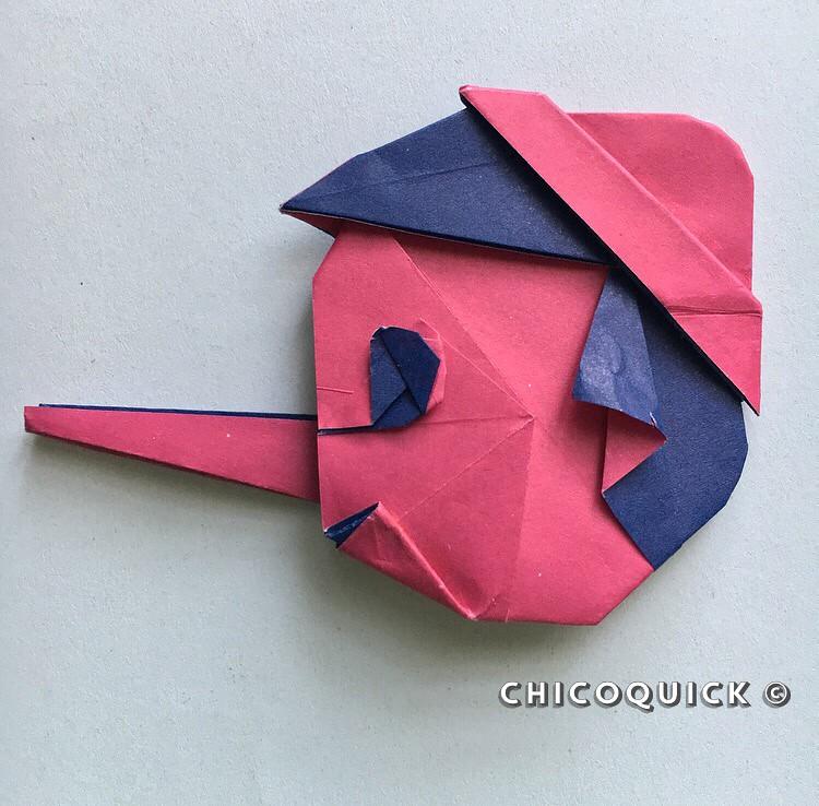 Fold an Origami Squishy Blob! Designed by Jeremy Shafer   738x750