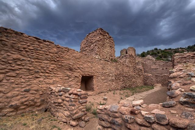 San José de los Jemez church ruins, Jemez National Historic Landmark, Sandoval County, New Mexico 1
