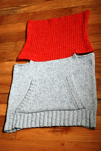 cowl neck sweater vest thing | by -leethal-