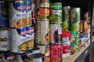 Collection of canned food items in the pantry | by Salvation Army USA West