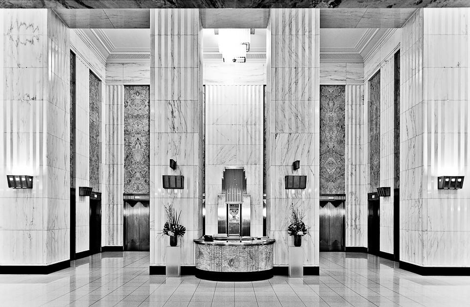 Art Deco Hoekbank.Field Building 135 S Lasalle Art Deco Bank Of Americ